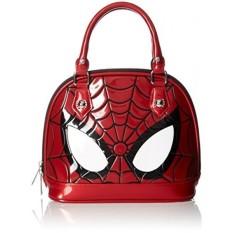Loungefly Marvel Spiderman Mata Mini Dome, Merah-Intl