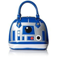 Loungefly Star Wars R2D2 Biru/Putih/Silver Paten Dome Bag-Intl