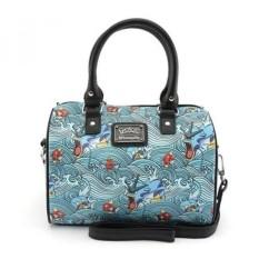 Loungefly X Pokemon GYARADOS MAGIKARP GELOMBANG Duffle Bag In Blue-Intl