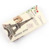 Spesifikasi Love Tower Pattern Women Long Purse Clutch Wallet Bag Card Holder Dan Harga