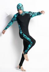 Beli Kekasih Hanya Makan Satu Orang Renang Setelan Baju Jas Pakaian Selam Menyelam Floatsuit Selancar Lengan Perlengkapan Baju Pakaian Baju Panjang Hitam Dan Biru Online