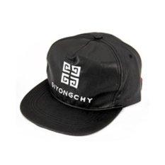 LRC Topi Crucifix Black Hiphop Baseball PU Fashion Hats