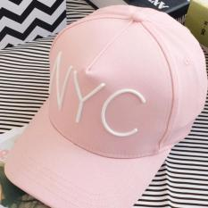 Jual Beli Lrc Topi Fashion Pink Letter Decorated Pure Color Design Baseball Cap Baru Indonesia