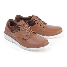 Lsa 138  Sepatu Casual Coklat Pria Asli Brand Cibaduyut Bandung - 7Caae7