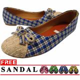 Harga Lt Flat Shoes Biru Original