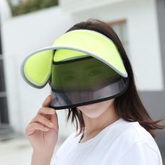 Harga Wanita Musim Panas Pelindung Terik Matahari Topi Topi Pelindung Sinar Matahari Hijau Neon Origin