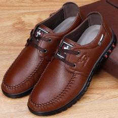 Luar Rumah Dewasa Muda Sepatu Pria Sepatu Pria (Hitam 1116 Hitam Sepatu)