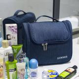 Promo Luar Rumah Perjalanan Mudah Dibawa Perempuan Tas Makeup Tas Mandi Biru Tua Warna Bagian B Winner Terbaru