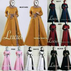 Jual Lucia Dress Warna Pink Ori