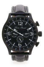 Lucien Piccard Avalon 13013 Bb 01 Jam Tangan Pria Hitam Leather Murah
