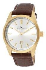 Harga Lucien Piccard Jam Tangan Pria Cokelat Strap Genuine Leather Lp 11568 Yg 02S Termahal