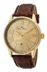 Jual Beli Lucien Piccard Jam Tangan Pria Cokelat Strap Genuine Leather Lp 11576 Yg 010 Indonesia