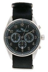 Harga Lucien Piccard Moderna 10588N 01 Jam Tangan Pria Hitam Silver Nylon Dan Spesifikasinya