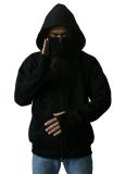 Jual Lucky Jaket Hoodie Ninja Black Lucky Asli