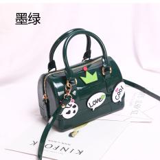 Promo Cute Pvc Candy Hot Tas Jelly Hijau Gelap Decals Tiongkok