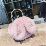 Toko Lucu Wanita Baru Telinga Roti Tas Tas Merah Muda Tas Tas Wanita Tas Selempang Wanita Tas Mini Wanita Terlengkap Tiongkok
