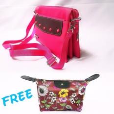 Lufas T833 Lufas T833 tas selempang mini wanita online / online shop tas mini wanita / tas punggung mini wanita / tas wanita ransel mini / dompet wanita mini ribbon / tas ransel mini untuk wanita / tas wanita selempang mini