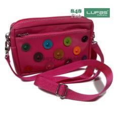 Lufas T848 tas selempang wanita terbaru dan murah / tas wanita terbaru elegan / tas wanita edisi terbaru / grosir dompet wanita terbaru