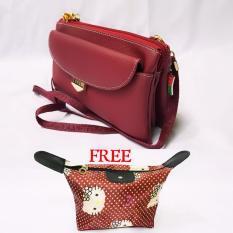 Lufas T850 tas selempang kecil wanita murah / tas selempang kecil branded / tas selempang kain / tas selempang kecil wanita terbaru / tas selempang lazada / tas selempang lucu wanita / tas selempang mini / tas selempang murah