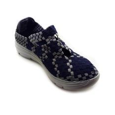 Lulia VS62 Sepatu Rajut Wanita - Navy