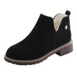 Toko Byl Lulur Beludru Hangat Dengan Pendek Sepatu Santai Dr Martens Hitam Sepatu Wanita Sepatu Boot Wanita Other Di Tiongkok
