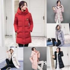 Review Terbaik Lunar Valley Terbaru 2017 Baru Hot Sale Musim Dingin Mantel Musim Dingin Hangat Mantel Jaket Wanita Merah Int M Intl
