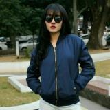 Beli Lunashop Fashion Jaket Bomberdespo Navi Kualitas Bagus Fashion Cewe Lembut Premium Quality Terbaru Lunashop Murah