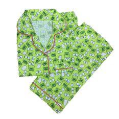 Review Toko Lunashop Fashion Pakaian Tidur Wanita Corak Kero Celana Panjang Online