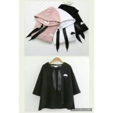 Spesifikasi Lunashop Fashion Pakaian Wanita Model Blouse Cloud Merk Lunashop