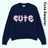Harga Lunashop Fashion Wanita Model Sweater Tulisan Cute Origin