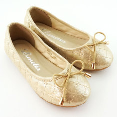 Diskon Lunetta Sepatu Anak Flat Shoes Shining Luxe Gold