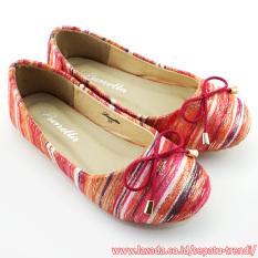 Spesifikasi Lunetta Sepatu Anak Perempuan Flat Shoes Rainbow Fuchsia Merk Lunetta