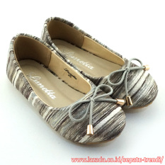 Harga Lunetta Sepatu Anak Perempuan Flat Shoes Rainbow Grey