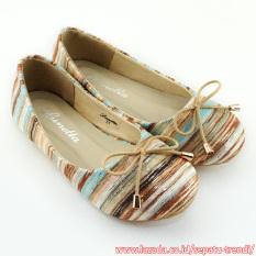 Jual Lunetta Sepatu Anak Perempuan Flat Shoes Rainbow Mocca Import