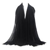 Diskon Lvshoping Premium Viscose Maxi Crinkle Cloud Hijab Scarf Shawl Soft Islam Muslim Intl Not Specified Di Tiongkok