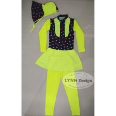 Lynn Design- Baju renang muslim anak cewek dari SD ke SMP