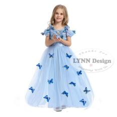 Lynn Design - Dress Baju Kostum Princess Cinderella Anak_Frozen Friends