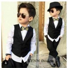 Ulasan Tentang Lynn Design Setelan Tuxedo Jas Formal Anak Cowok Laki Laki 2 7 Tahun