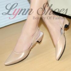 Harga Lynn Selop Phantofel Sepatu Kerja Wanita Pt1Ykcr Cream Lynn Baru