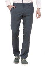 Toko Lzd Man Smart Trousers Slim Grey Online Di Indonesia