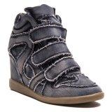 Harga Lzd Wedge Hidden Sneaker Black Yang Murah