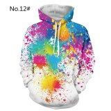 Jual M 3Xl Baru Pria Hoodies Hip Hop Lucu 3D Dicetak Hooded Pullover Sweatshirt Jumper Atasan Hoodie Intl Not Specified Branded