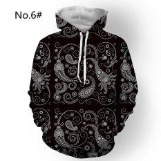 Harga M 3Xl Baru Pria Hoodies Hip Hop Lucu 3D Dicetak Hooded Pullover Sweatshirt Hoodie Jumper Atasan Internasional Online