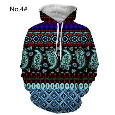 Beli M 3Xl Baru Pria Hoodies Hip Hop Lucu 3D Dicetak Hooded Pullover Sweatshirt Hoodie Jumper Atasan Internasional Seken