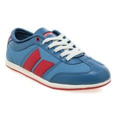 Harga Macbeth Brighton Low Cut Sneakers Muted Cobalt Merah Terbaik