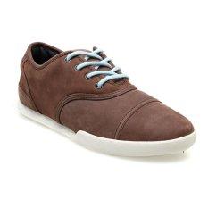 Spesifikasi Macbeth Gatsby Low Cut Sneakers Dark Brown Cement Murah