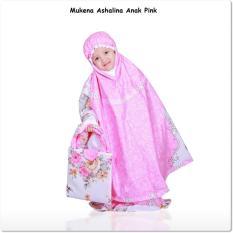 Madeena Mukena Anak Ashalina Pink Terbaru