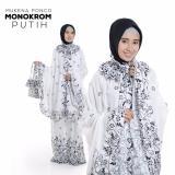 Toko Madeena Mukena Ponco Bali Monocrom Putih Terlengkap Di Jawa Barat