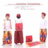 Harga Madeena Sarung Anak Amazing Spiderman Baru Murah