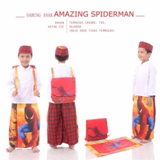 Madeena Sarung Anak Amazing Spiderman